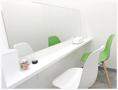 東京中央美容外科【TCB福岡院】個室待合室